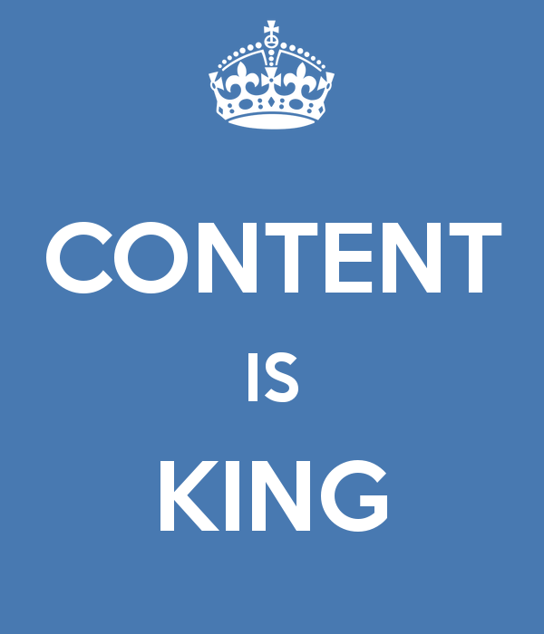 content is important